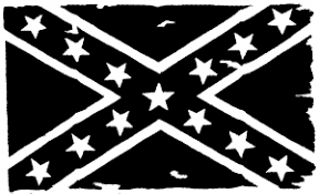 Confederate Southern Rebel Battle Flag Tattered Car Or Truck Window Decal Sticker Or Wall Art Decalsrock