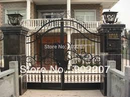 Ornamental Wrought Iron Gates Small Metal Garden Gate Metal Gate Price Iron Doors Iron Gatesgates Iron Aliexpress