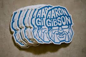 Aaron Gibson Sticker | Aaron Gibson