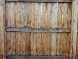 Wooden Fence Section Back Side Picture Free Photograph Photos Public Domain