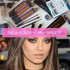 mila kunis inspired motd howto makeup