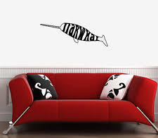 Narwhal Wall Decal Ebay