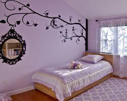 Bedroom Wonderful Purple Teenage Room For Girls With Purple Color For Bedding Rugs And Cushion Also W Bedroom Wall Colors Girls Bedroom Paint Purple Bedrooms