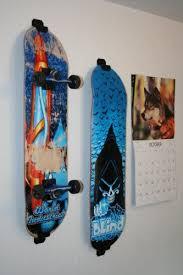 robot check skateboard wall mount
