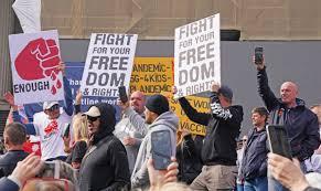 Bizarre' lockdown protests jeopardise ...