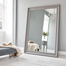 vermont oversized mirror danish grey