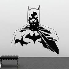 Kellysdesigns Batman Wall Vinyl Decal Superheroes Vinyl Stickers Dark Knight Decals Nursery Decor Home Decor 19bn