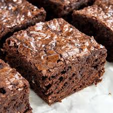 easy fudgy homemade brownies from