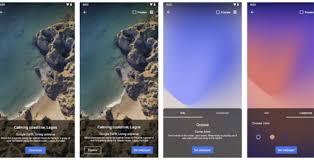 pixel live wallpaper app launches