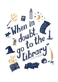 harry potter print a book quote library chamber of