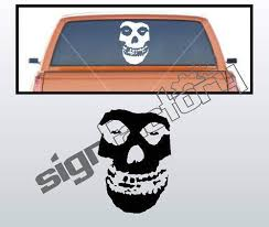 Amazon Com Huge Misfits Decal For Car Or Wall 16 X11 Any Color Automotive