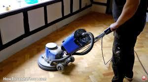 sanding and refinishing parquet floors