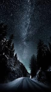 خلفيات ايفون Hd فضاء ليل روعة 2020 مربع