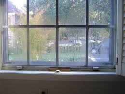 window condensation in winter