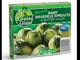 baby brussels sprouts er sauce