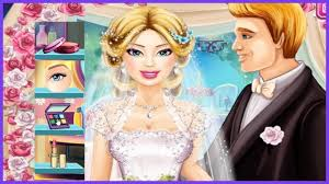 barbie bride makeup tutorial game
