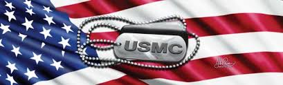 John Rios Marine Corps Tags And Flag Rear Window Graphic Rwg1594 Customautotrim