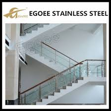 stainless steel glass railing design