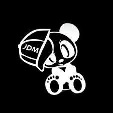 Panda Bear Jdm Car Window Decal Stickers Custom Sticker Shop