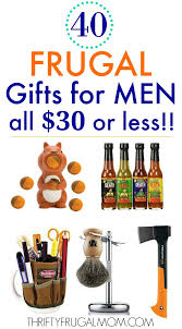 40 frugal gifts for men that cost 30