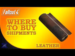 fallout 4 how to find shipments of