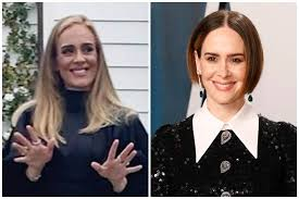 Adele fans think she looks just like Sarah Paulson...and they're ...