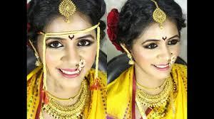 maharashtrian bridal makeup in