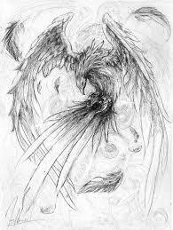 Phoenix By Herrmagermilch On Deviantart Feniks Tatuaze