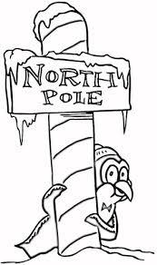 Kerst Op Noordpool Kleurplaat Gratis Kleurplaten Printen