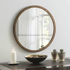 decorative round mirror wall