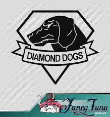 Vinyl Decal Metal Gear Solid Diamond Dogs Logo Etsy