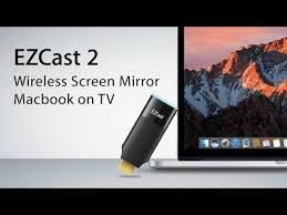 wireless screen mirroring macos to tv