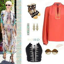 aztec inspired boho luxe fashion