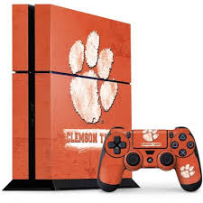 Clemson Tigers Vintage Ps4 Console And Controller Bundle Skin