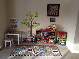 Play Area And Learning For Those Living In A Small Home With A Busy Toddler Toddler Playroom Baby Play Areas Kids Play Corner