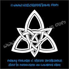 Celtic Trinity Knot Irish Dance Ireland Religious Church Grace Vinyl Decal
