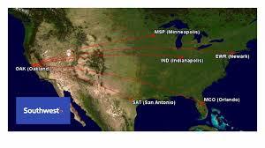 southwest airlines announces four new