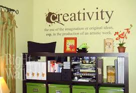 Creativity Definition Removable Wall Decals Vinyl Art Stickers