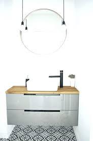 ikea bathroom mirror cabinet light