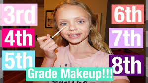 should you wear makeup in 7th grade