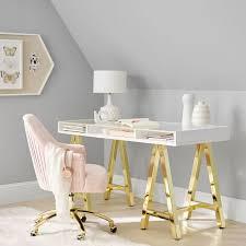 customize it acrylic trestle teen desk