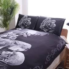 fanaijia 3d sugar skull bedding sets