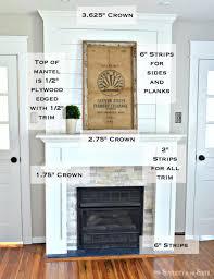 diy budget fireplace surround makeover
