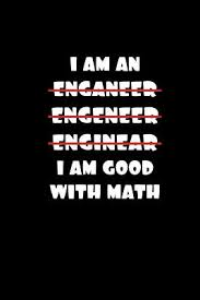 i am good math x blank sketchbook for engineers funny