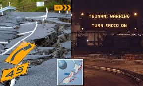 Massive 8.1 magnitude earthquake is ...
