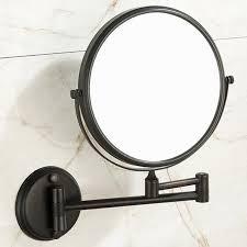 bathroom wall adjustable mirror
