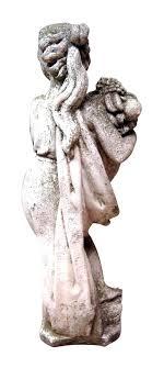 garden statue cement dog garden statues