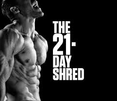 exercises from the 21 day shred