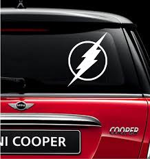 The Flash Vinyl Decal For Car And Truck Windows Sticker Clearskydesigns Truck Window Stickers Vinyl Decals Car Decals