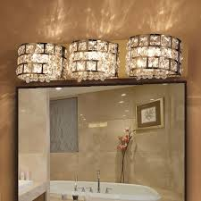 stainless steel bath vanity light
